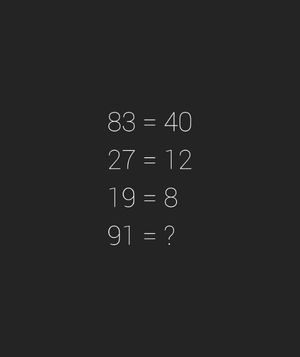 Solution Math Riddles Niveau 25